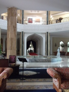 I absolutely loved the unique architecture and tranquil ambience of the grand entrance hall