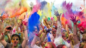 Holi Festival in India - the most colourful festival in the world