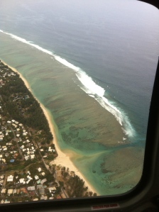 La Reunion's stunning coast line taken during my helicopter ride