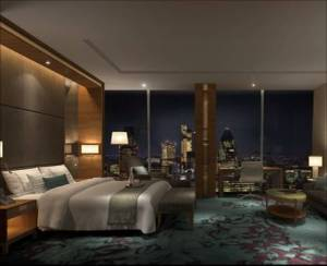 A room with a view? The Shangri-La will is set to be one of the hottest hotels of 2013