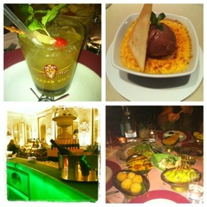 I sampled a variety of the restaurants during my stay including Palais Keller, Blue Spa Cafe and Garden Restaurant