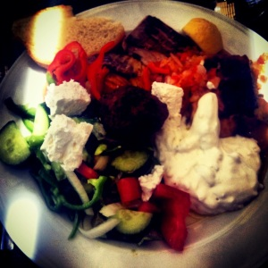10/10 for food: I loved the mouth watering selection of Greek dishes at the buffet restaurant - changing every day