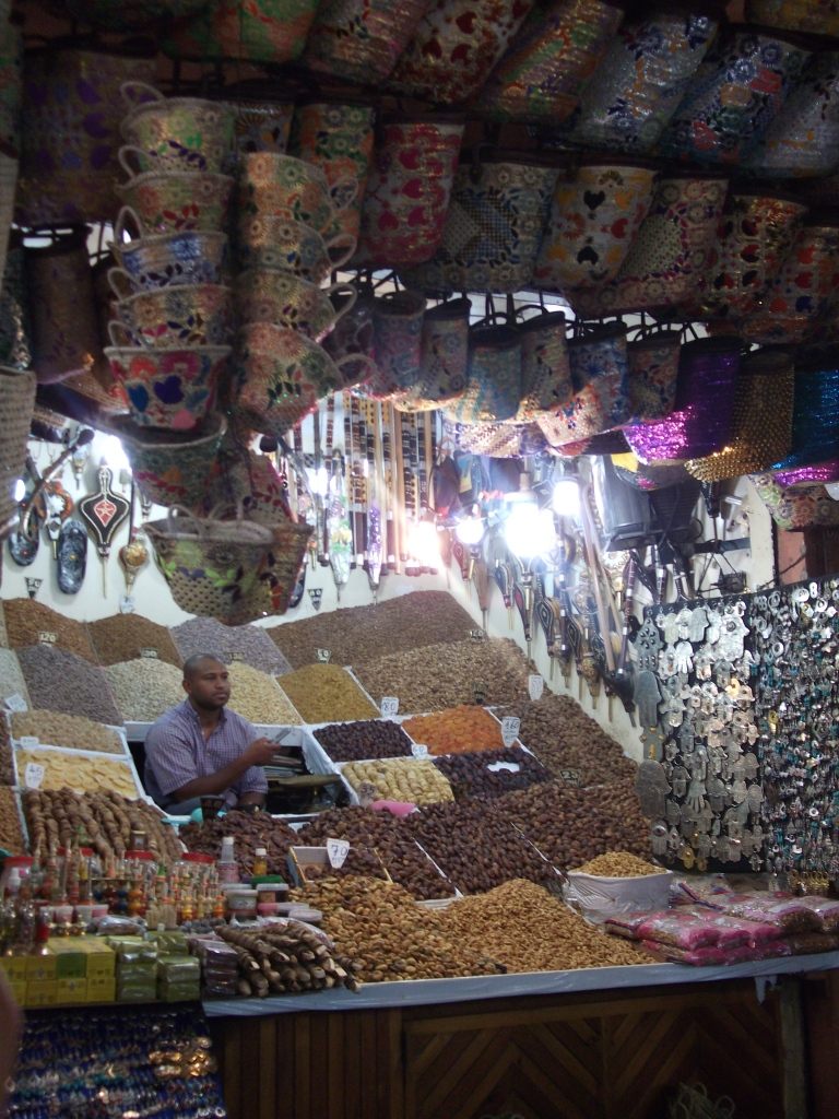 Marrakech Spice Stall