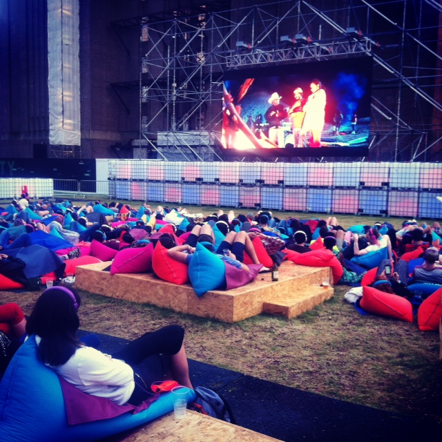 The super cool Everyman outdoor cinema at Battersea Power Station
