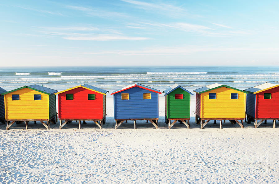 muizenberg-beach-huts-things to do in Cape Town