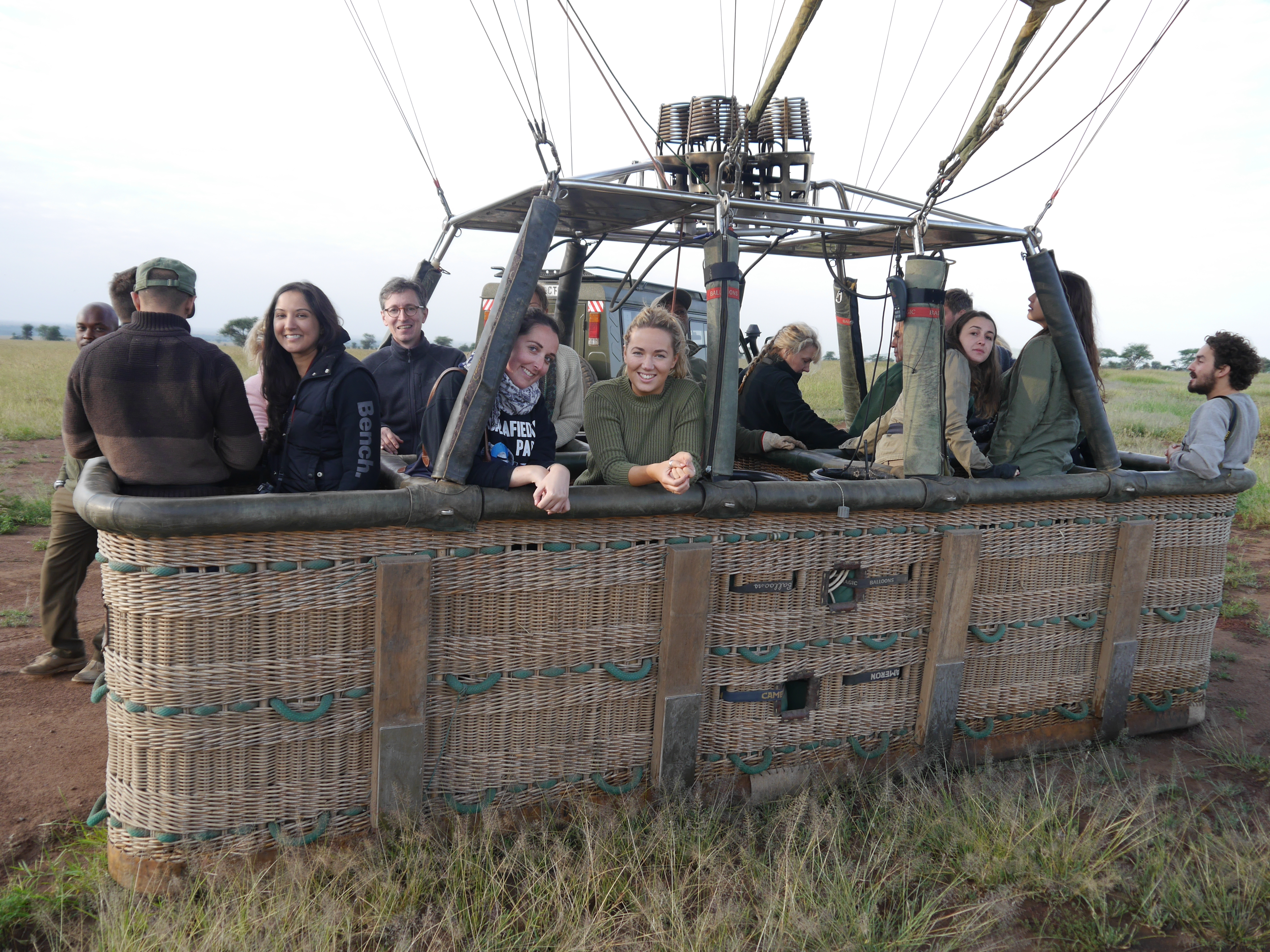 What to Expect on A Sunrise Hot Air Balloon Ride in The Serengeti